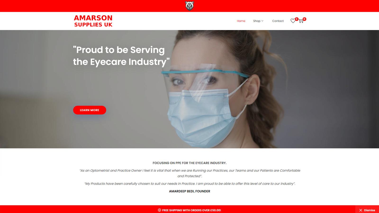 farook kholwadia developer keighley amarson supplies